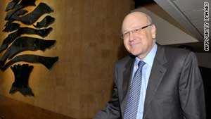 "Lebanese Prime Minister Najib Mikati said he asked the army and security forces ""to impose the law and order"" in Tripoli."