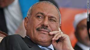 (file photo) Yemeni President Ali Abdullah Saleh is facing calls to step down.