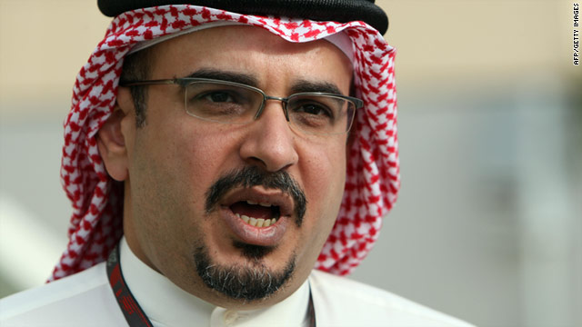 Bahrain's Crown Prince Salman bin Hamad al-Khalifa said he was seeking a national dialogue with protesters last month.