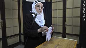 (file photo) Egypt's parliamentary elections are scheduled to take place in September.