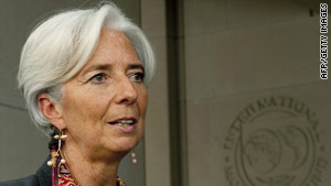 Christine Lagarde, International Monetary Fund