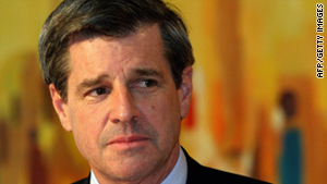 Paul Bremer, the U.S. civilian administrator of Iraq after the fall of Saddam Hussein, is on Iran's list.