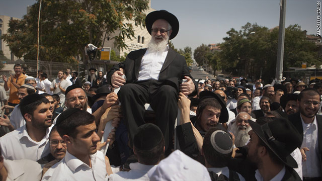 Israeli police brace for more protests over rabbi's arrest