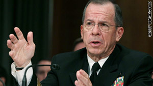 """Iran is very directly supporting extremist Shia groups (in Iraq), which are killing our troops,"" Adm. Mike Mullen said."