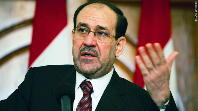 Iraqi Prime Minister Nuri al-Maliki says he hopes a final decision can be reached on Tuesday.