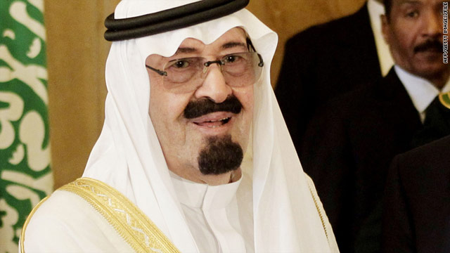 King Abdullah said Saudi Arabia has recalled its ambassador from Damascus for consultations.