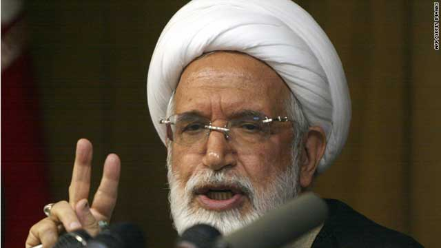 (file photo) Mehdi Karrubi has been missing for six weeks, according to the International Campaign for Human Rights in Iran.