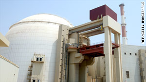 The Bushehr nuclear plant is connected to Iran's national grid, the government says.