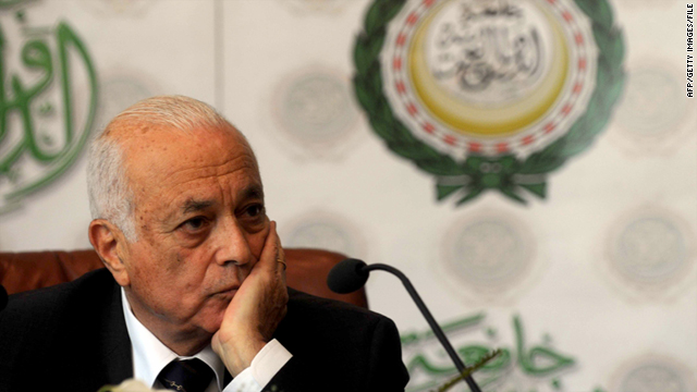 Arab League Secretary General Nabil Al Araby as seen in July before his first press conference at the Arab League in Cairo.