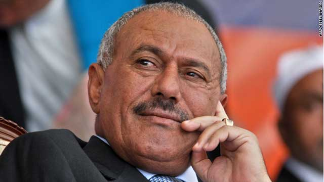 Yemeni President Ali Abdullah Saleh has been in Saudi Arabia for more than three months (file photo).