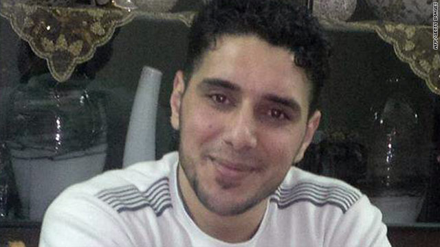 Image from Human Rights Watch shows 26-year-old Syrian rights activist Ghiyath Mattar, who reportedly died in custody.