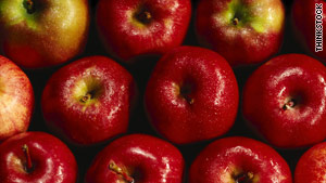 Apples top 2011 'dirty dozen' list