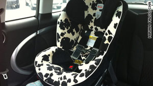 Chemicals found in kids' car seats