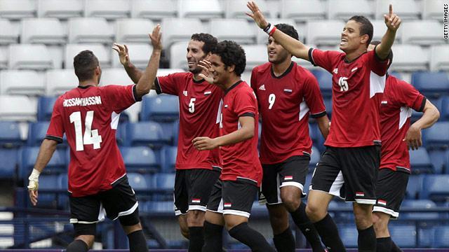 منتخب مصر لكرة القدم يودع أولمبياد لندن Cnnarabiccom