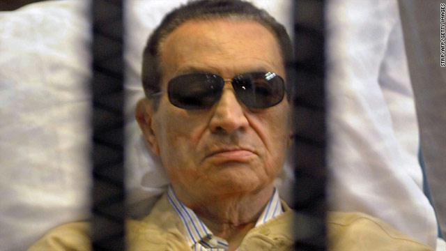 Moubarak et sa famille chute retentissante