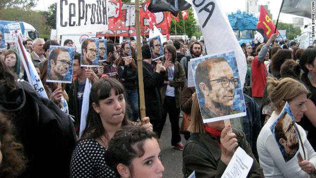 Argentina recuerda a los desaparecidos en el aniversario 37 del inicio de la dictadura