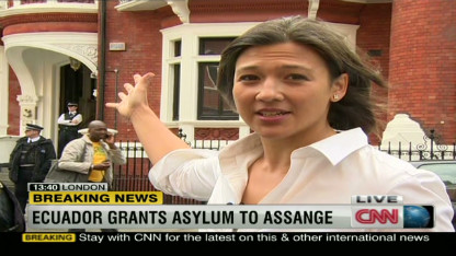 Assange embassy gamble follows famous precedents
