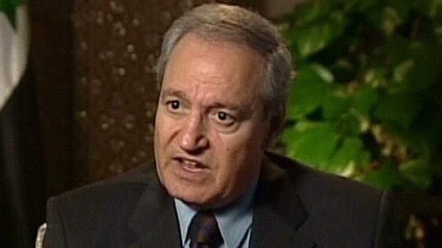 Reaparece el vicepresidente de Siria tras las versiones de su deserción