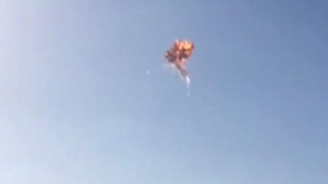 Un cohete del proyecto de la misión a Marte se autodestruye tras un fallo