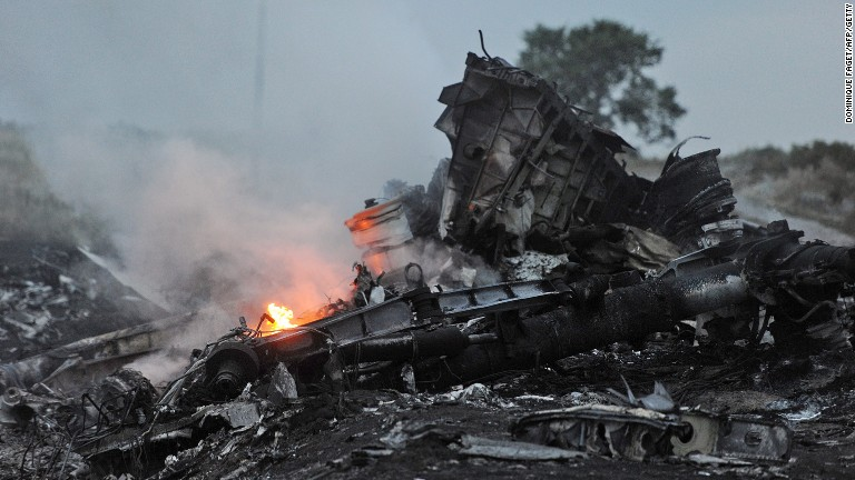 MH17: Russian missile blamed