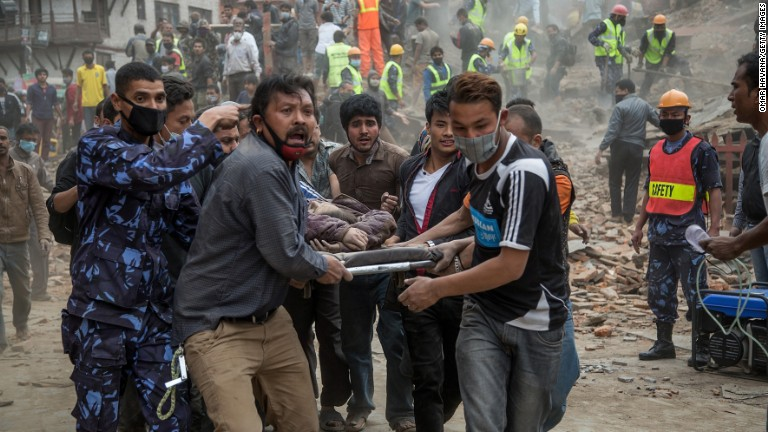 Fears of total destruction in remote areas of Nepal
