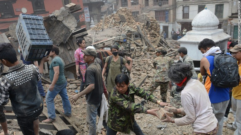 Nepal shaken by deadly earthquake