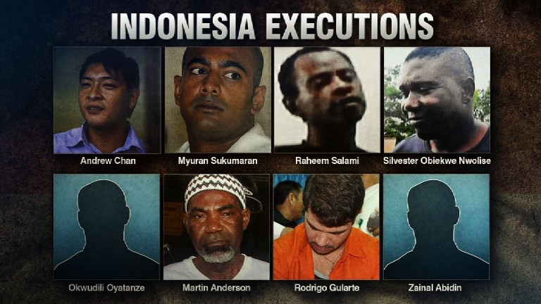 Australia slams 'cruel and unnecessary' executions