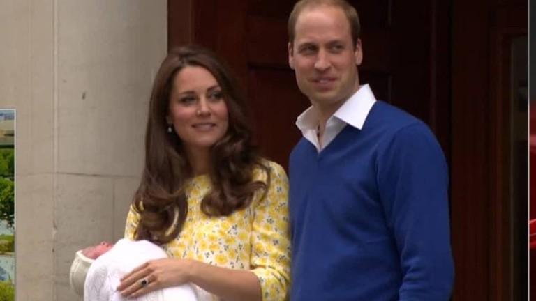 Duchess gives birth to a princess