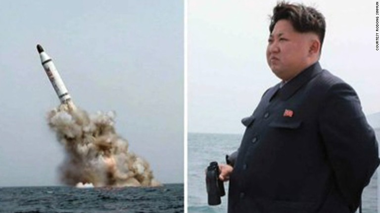 Ballistic missile fired from sub, state media says