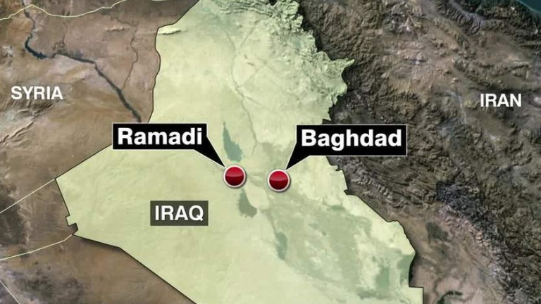 Iraqi forces pull out of key Iraqi city