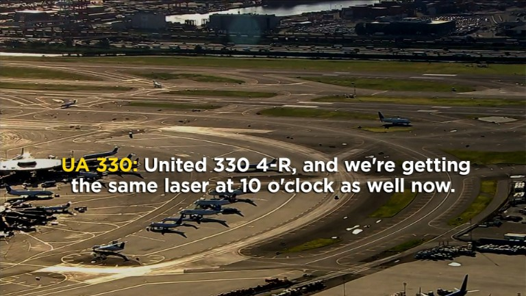 U.S. planes targeted with lasers