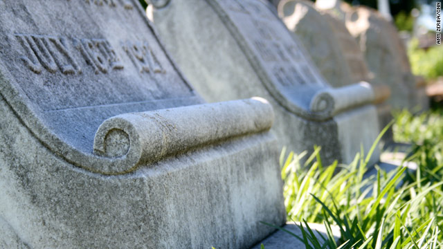 What do headstone symbols mean?