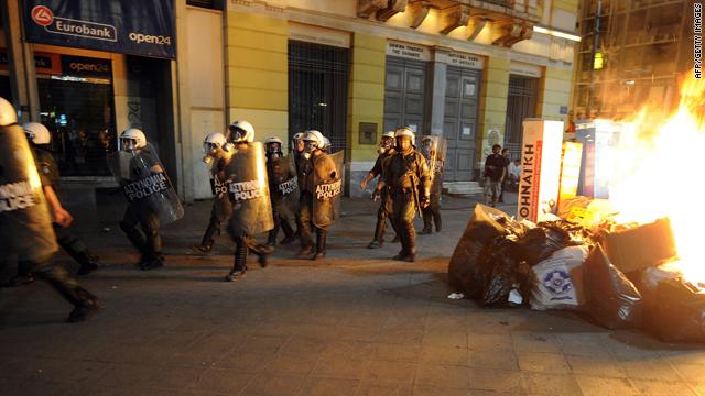 Three dead as Greek strike grows violent