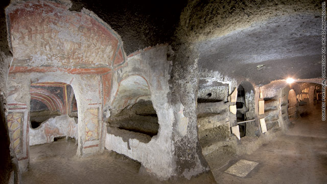 Catacombs of St. Tecla