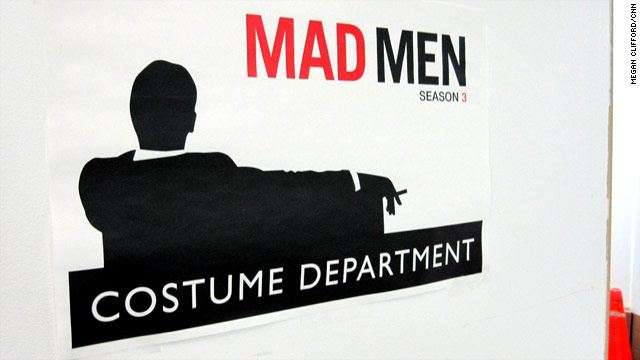 In the 'Mad Men' costume department
