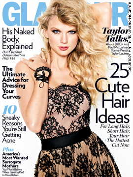 Taylor Swift covers Glamour magazine