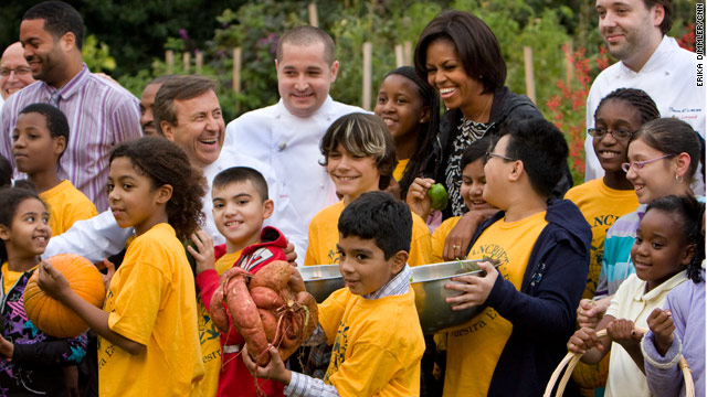 The First Lady's fall harvest