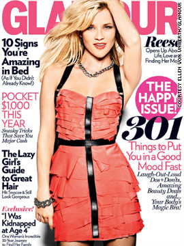 Reese Witherspoon in Glamour magazine