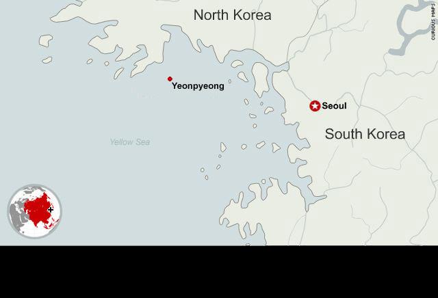 Islands crabs and skirmishes the koreas maritime mishaps cnn map n korea shells s korean island gumiabroncs Choice Image