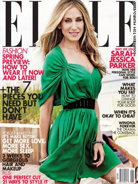 Sarah Jessica Parker covers Elle magazine