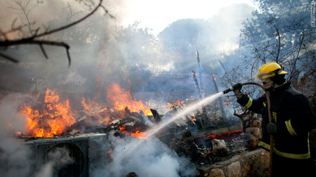 Israeli wildfire is worst in nation's history