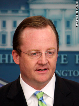 Who will replace Robert Gibbs?