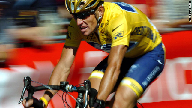 Lance Armstrong over the years