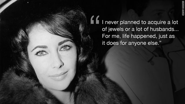 Elizabeth Taylor's memorable quotes