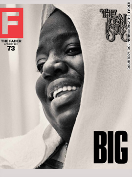 Notorious B.I.G. covers The FADER's Icon issue