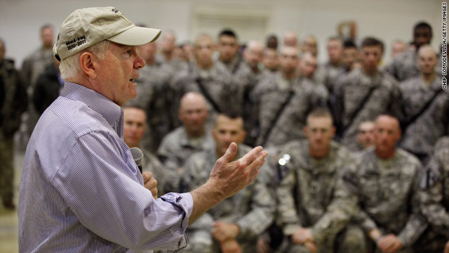 Leaving: Robert Gates
