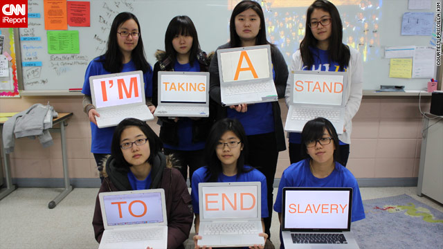 Taking a stand to end slavery