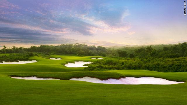 """El """"boom"""" del golf en Hainan"""