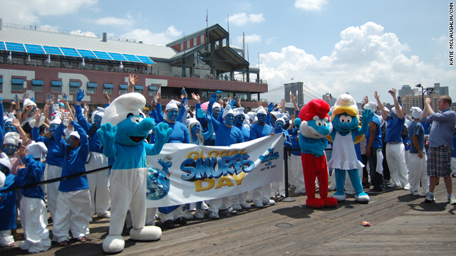 Global Smurfs Day: New York