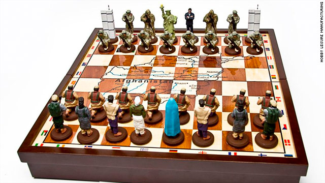 Chess as a piece-keeping mission 